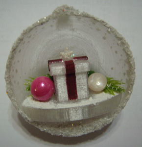 Decorated Present Ball