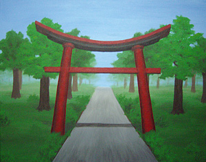 Torii Gate and Pathway